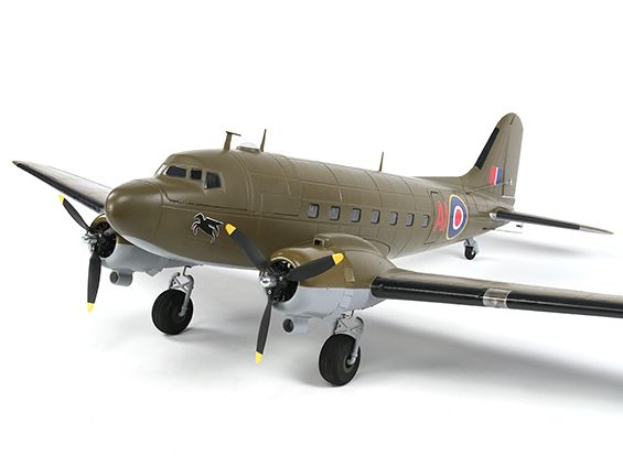 C-47 Skytrain Military DC-3 Airliner EPO 1600mm (PNF)
