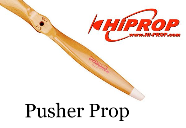 17x6 Wood  Pusher Ultra-Light Electric Propeller