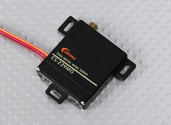 Corona CS-239MG Slim-Wing Analog Servo 4.6kg/22g / 0.14sec