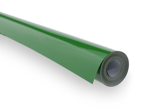 Covering Film solid Green  (sold per meter )