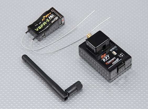 FrSky FF-1 2.4Ghz Combo Pack for Futaba w/ Module & RX SET 5