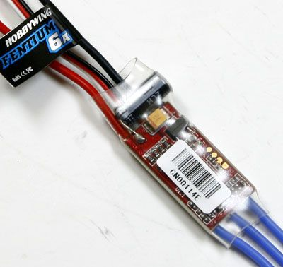 Hobbywing FlyFun Series 6A 2S Electric Speed Control ESC FlyFun-6A