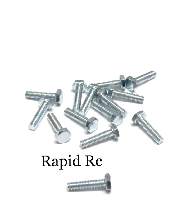 M3 x 12mm Hex Head High Tensile Hex Bolts