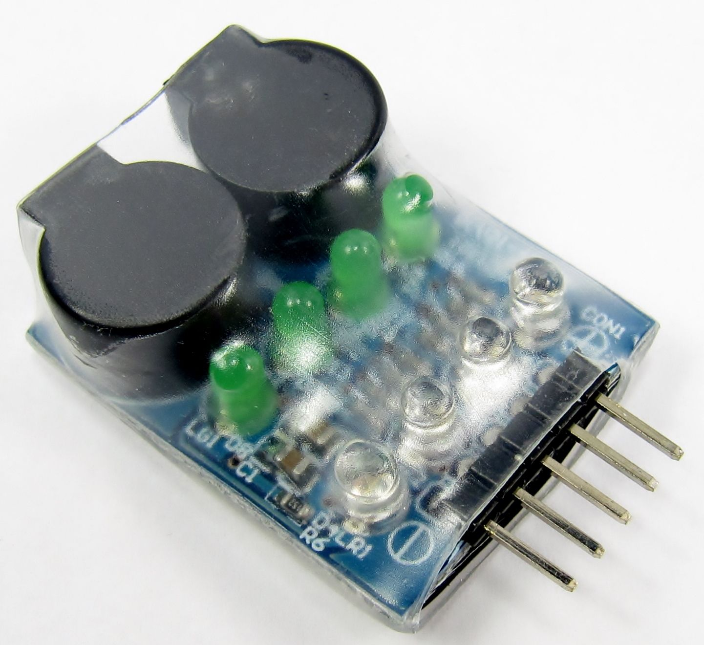 On Board Lipoly Low Voltage Alarm 2s 4s Circuit