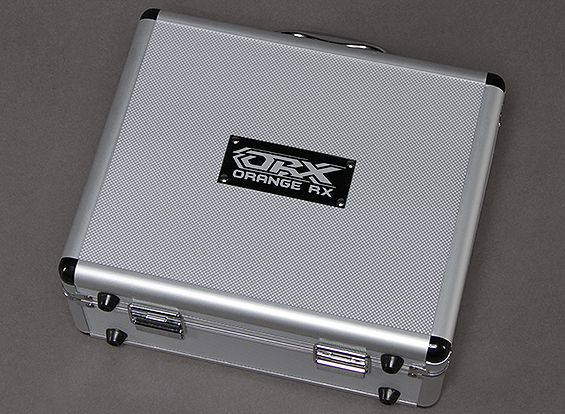 OrangeRX Aluminium Flight Case T-Six 2.4ghz 6ch Transmitter
