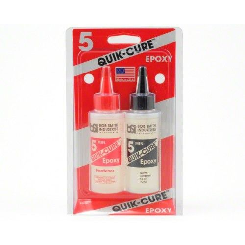 Quick-Cure 5 Min Epoxy Glue 4.5 oz