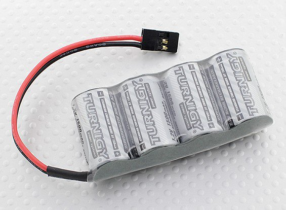 Receiver Pack 2/3A 1500mAh 4.8V NiMH High Power Series