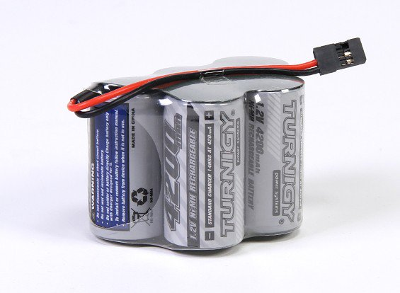 Receiver Pack Sub-C 4200mAh 6.0v NiMH High Power Series