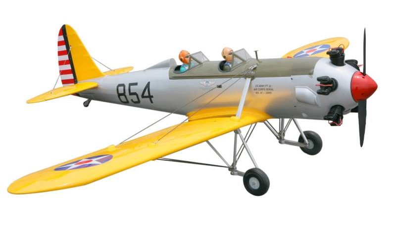 Seagull PT-22 Ryan Recruit 1/4 Scale 90in (30-50cc) (SEA-288) 5500023