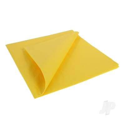Trainer Yellow Light weight Tissue Covering Paper, 50x76cm, (5 Sheets)