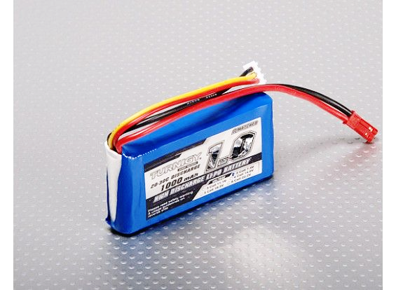 Turnigy 1000mAh 2S 20C LiPo battery Pack