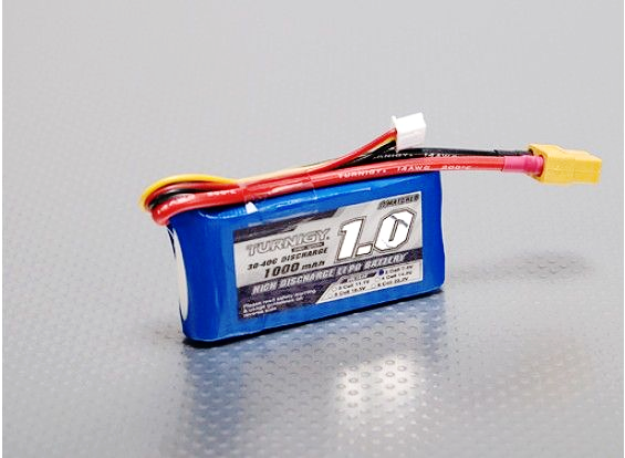 Turnigy 1000mAh 2S 30C LiPo battery Pack