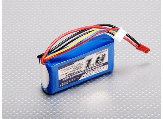 Turnigy 1000mAh 3S 20C Lipo battery Pack