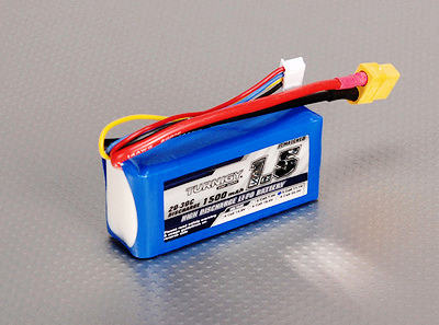 Turnigy 1500mAh 3S 20C Lipo Battery Pack