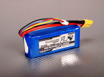 Turnigy 1600mAh 3S 20C Lipo battery Pack