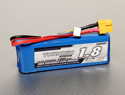Turnigy 1800mAh 3S 20C Lipo Battery Pack