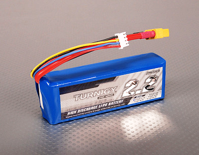 Turnigy 2200mAh 3S 40C Lipo Battery Pack
