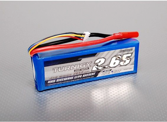 Turnigy 2650mAh 3S 40C Lipo battery Pack