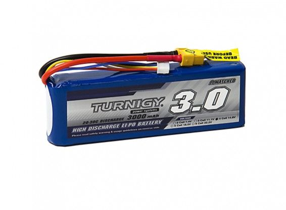 Turnigy 3000mAh 4S 20C Lipo Battery Pack