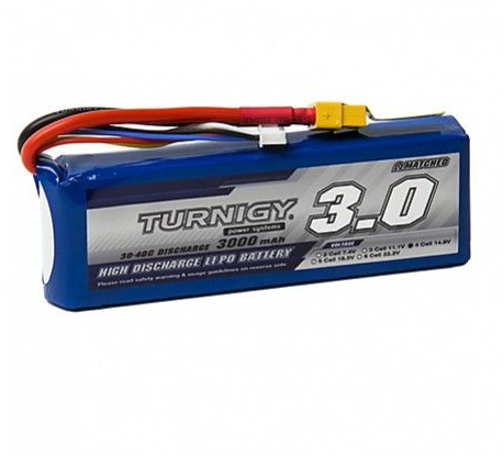 Turnigy 3000mAh 4S 30C Lipo Battery Pack