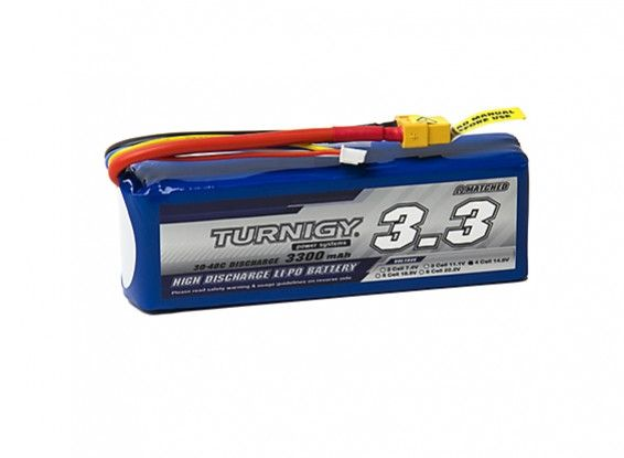 Turnigy 3300mAh 4S 30C Lipo Battery Pack