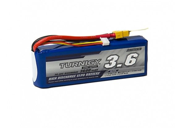 Turnigy 3600mAh 3S 30C Lipo Battery Pack