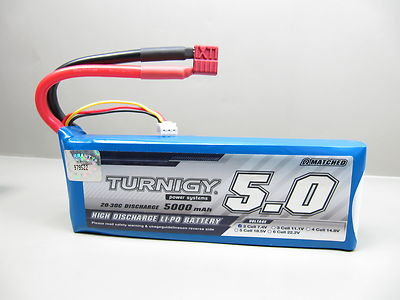 Turnigy 5000mAh 2S 20C Lipo Pack with deans style connectors