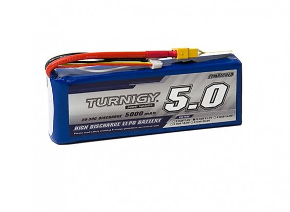 Turnigy 5000mAh 3S 20C Lipo Battery Pack w/XT-60