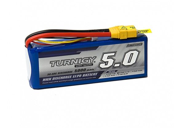 Turnigy 5000mAh 3S 30C Lipo Battery Pack w/XT-90