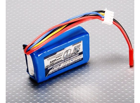 Turnigy 500mAh 3S 20C Lipo Battery Pack