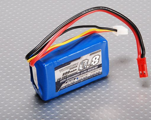 Turnigy 800mAh 2S 20C Lipo battery Pack