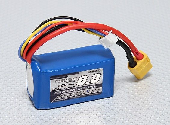 Turnigy 800mAh 3S 30C Lipo Battery Pack