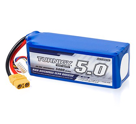 Turnigy lipo battery 5000mAh 6S 40C To 5OC Lipo Pack