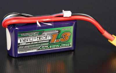 Turnigy nano-tech 1300mAh 3S 25C~50C Lipo battery Pack