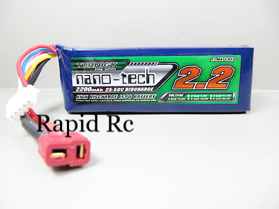 Turnigy nano-tech 2200mAh 4S 25C~50C Deans Style Connector