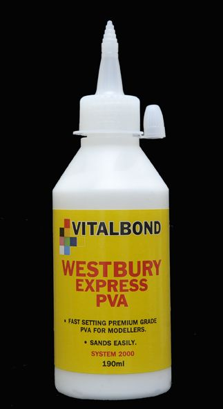 Vitalbond Rapid PVA 190ml bottle VB296A