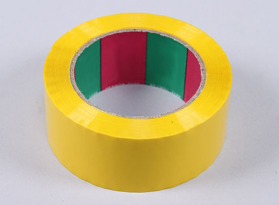 Wing Tape 45mic x 45mm x 100m (Wide - Yellow